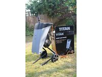 Titan ( Screwfix) 2500W Rapid Garden Shredder. Used once / almost as new condition.