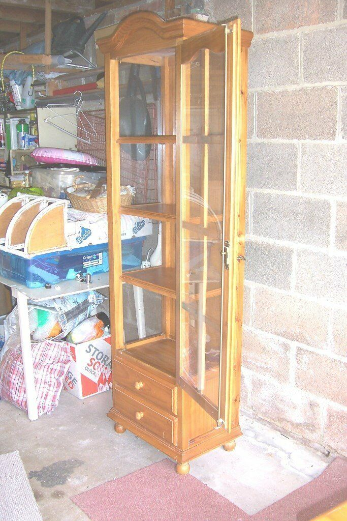 PINE WALL UNIT good condition. BARGAIN