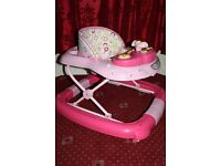 My Child Pink Baby Girl Walker & Rocker 2 in 1 Good Clean Condition Collection From Lozells B19