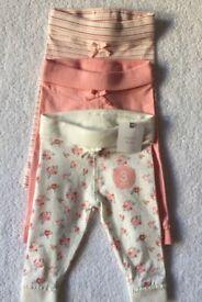 BNWT Next Baby Girl Leggings 3 - 6 Months