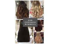 HAIR EXTENSION TECHNICIAN **from £180** over 10 years experience