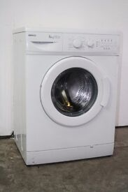 Beko White 6kg Washing Machine Good Condition 6 Month Warranty Delivery and Install Available