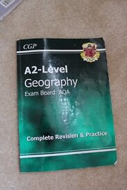 CGP AQA A-Level Geography Revision Guide