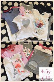 Girls 4-5y tshirts