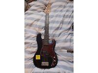 Redwood Mini Bass Electric Guitar