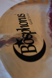 """Bosphorous Gold 20"""" Ride Cymbal *nearly new* (price includes UK postage)"""