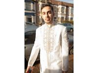 Men's Sherwani - Indian/Pakistani Wedding Outfit - Excellent Condition
