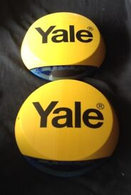 Yale alarm dummy bell boxes x2