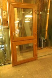 Light Oak effect Stable door