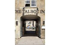 A great commis chef wanting to progress needed for top Somerset gastropub The Talbot Inn Mells