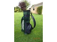Donnay International Golf bag with rain hood
