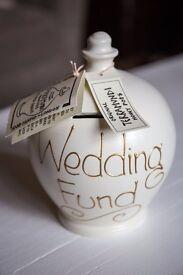 """Wedding Fund"" Terramundi Money Pot - Great Gift"
