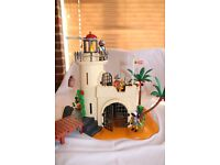 Playmobil Soldiers Fortress with Lighthouse - model 4294