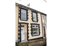 TO LET! **REDUCED** Newly renovated 3-bedroom house in Harcourt Terrace, Penrhiwceiber, £425 PCM.