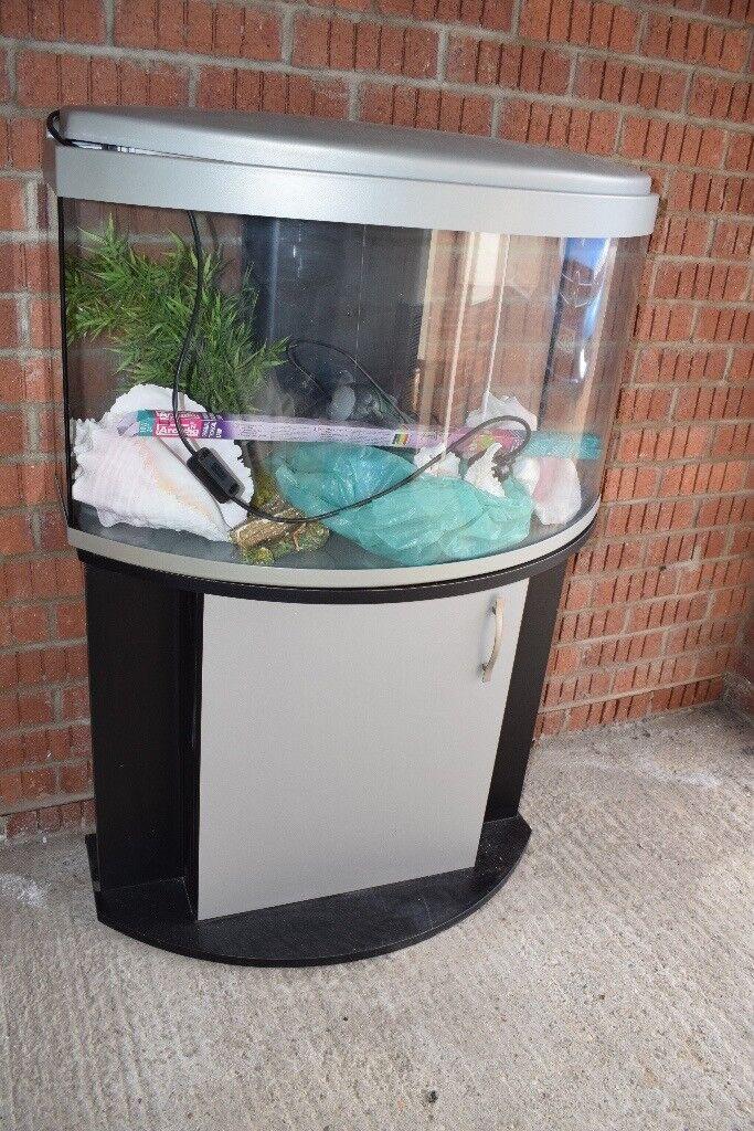 Fish Tank Aquarium, plus supporting equipment