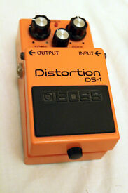 Boss DS1 excellent condition barely used