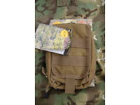 Brand New - Coyote Color - Utility (Molle Modular) T.O.P EDC Pouch