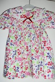 Girls / Toddlers / Kids Dress by Pattacake, age approx 18 - 24 Months, Very Good Condition, Histon