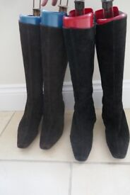 2 pairs of russell and bromley boots
