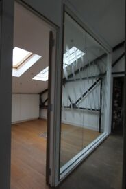 Private 3 desk and 6 Desk Warehouse Office and Studio Space for rent East London.