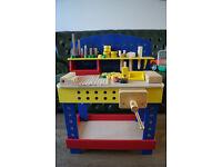Childrens wooden workstation!