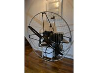 Paramotor Airconception 130/technofly ,12 hours only ,cluch,Peszke propeller