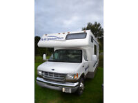 FOUR WINDS MAJESTIC C CLASS AMERICAN MOTORHOME FORD E350 SUPER DUTY.