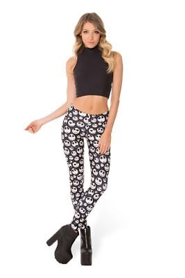 Jack Skellington Leggings Black Milk. Museum item sold out. Halloween S](Black Milk Halloween Leggings)