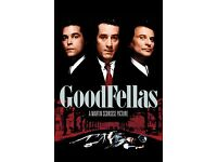 Goodfellas plus other classic DVDs
