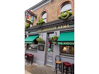 Expirienced Bar staff wanted for busy Pub in Hammersmith
