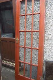 2 Glazed & 4 plain doors for quick sale