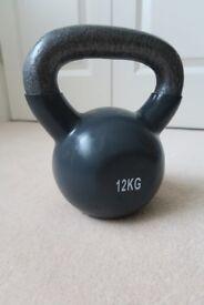 12 kg Crane Cast Iron Kettlebell