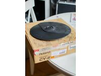 ROLAND CY-8 DUAL TRIGGER CYMBAL PAD DRUM