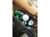 Free x 10 cans beer out of date