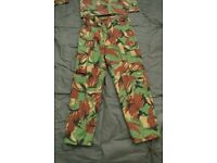 New (in packet) - DRAGON Jungle / Tropical DPM Camo TROUSERS / Pants