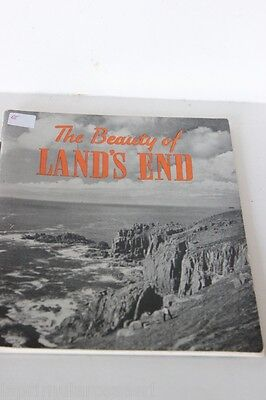 """LIBRO VINTAGE IN LINGUA INGLESE """" THE BEAUTY OF LAND'S END """"  BY B. A. BUTT"""