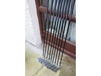 Ben Sayers Ladies Golf Clubs - Set of 9 irons in good condition. Great value at just £65.