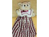 Teddy in a Red and White Dress, Histon
