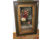 Ornate Victorian Painted Mirror