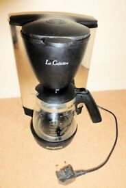 Magimix La Cafetiere Filter Coffee Maker, just needs a new water filter or use for SPARES, Histon