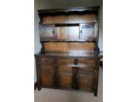 Welsh Dresser by Jaycee (dark oak)