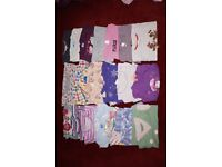 Girls 3-4 year old clothes and shoes bundle