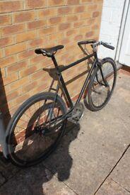"Rugged Rolling Thunder Road Bike 21"" Frame Medium/Large Single Speed"