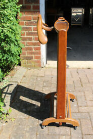 Valet stand. Old original.Second hand