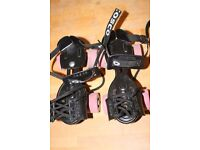 On-Shoe skates - size approx c9-c11 (adjustable)