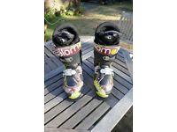 Salomon SPK Pro Freeride Ski Boots - good condition - UK 9/9.5 - £45