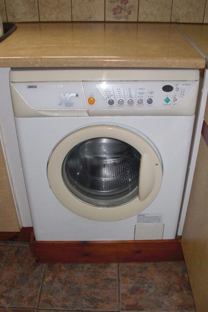 Zanussi Washing Machine Xc6 1200 Jet System In Norwich