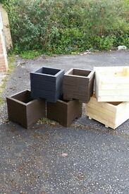 Planters for sale ,,, hand made , very strong and better quality then BnQ , £25 each or 2 for £40
