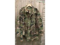 Slovakian Army Woodland Parka / Jacket - Large