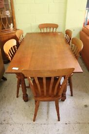 Dining table (from Cambridge Re-use, a Charity Organisation)